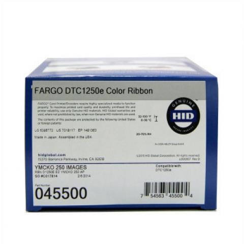 Ruy băng in thẻ nhựa Fargo DTC1250e